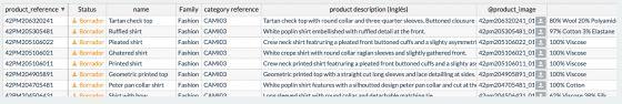 """Modo """"Editable"""" en la tabla de Productos"""